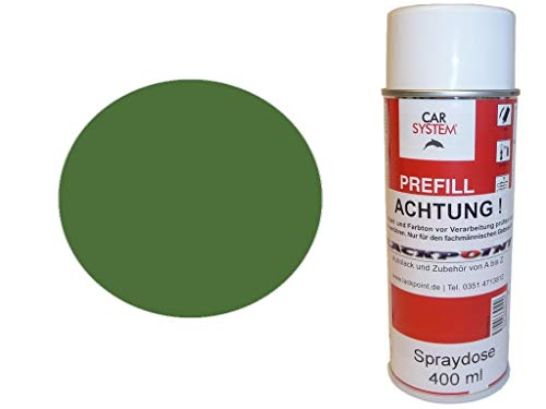 Lackpoint Spraydose 400ml 1 Komponenten Autolack RAL 6010 Grasgrün Matt