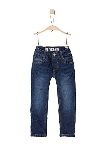 s.Oliver Jungen 74.899.71  Straight Jeans,  Blau (Blue Denim Stretch 56z7),  116/REG