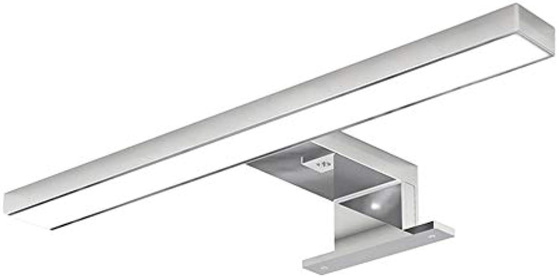 Moderne, einfache Spiegel Front-LED-Make-up-Spiegel Kommode Nordeuropa Spiegel Lampen wasserdicht Beschlagfrei, FeuchtigkeitsBestendigen Toiletten Badezimmer Spiegel Spiegelschrank (weies)