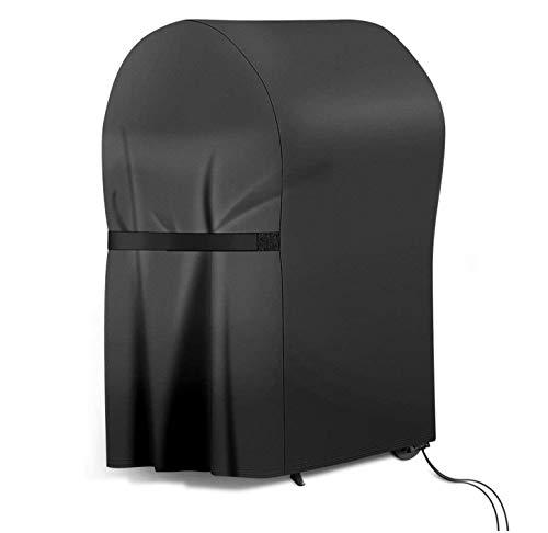 RATEL Grill Abdeckhaube, Schwerlast 420D Oxford-Stoff Grillabdeckung wasserdicht & Staubdicht & Anti-UV BBQ Cover mit Selbstklebende Gurte und Aufbewahrungstasche(77x67x110cm)