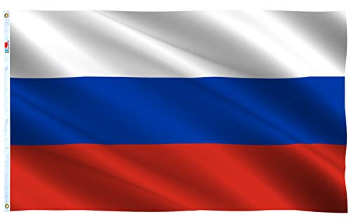 Russian coat of arms Car flags 30 x 45cm AZ FLAG Russia with eagle Car Flag 18 x 12 Banner 18x12 INCHES PLASTIC STICK