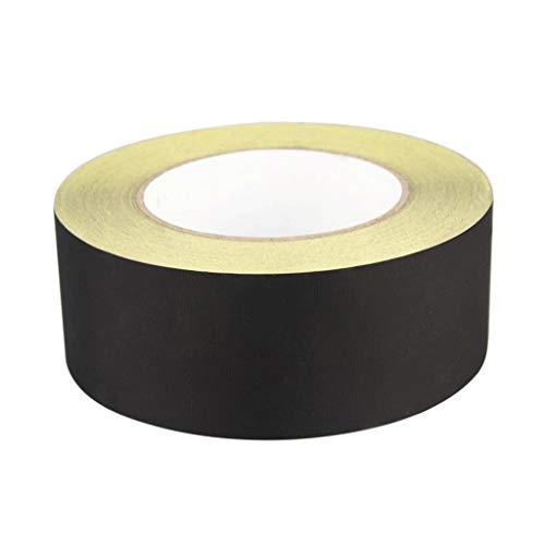 Adhesivo negro Aislar Acetato de tela cinta de fijación de aislamiento de alta temperatura cinta resistente pegajosa for el ordenador portátil de la pantalla del PC Monitor del ventilador del motor Wi