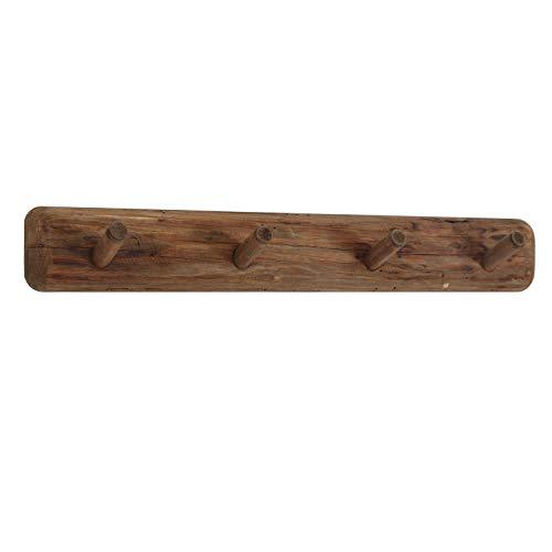Adec - Pixie, Perchero de Pared, Perchero Colgante Acabado en Madera de Pino Reciclado, Medidas: 71 cm (Largo) x 10 cm (Alto) x 10 cm (Fondo)
