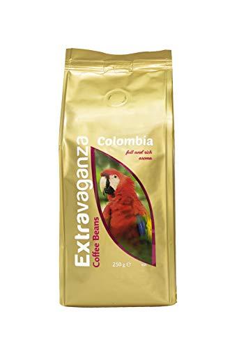 Extravaganza Colombia, caffè in grani, 250 g x 12 confezioni
