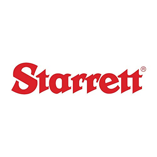 Starrett 463MRL Einbaumessschraube, 0-13 mm Range, 0.01 mm Grad, Ratsche, ringartige Feststellmutter für schnelles und sicheres Feststellen