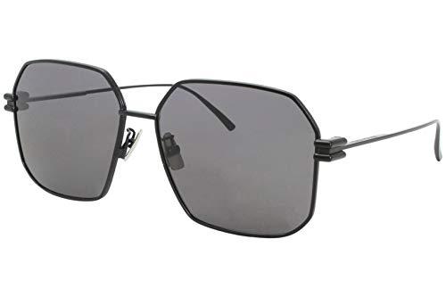Bottega Veneta Gafas de Sol BV1047S Black/Grey 59/15/145 mujer
