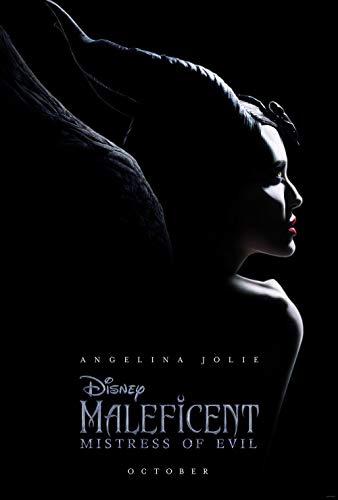 Lionbeen Maleficent Mistress of Evil Movie Poster Filmplakat 70 X 45 cm