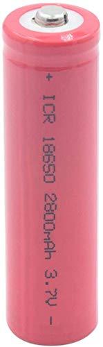 Icr 18650 Li Ion batería 3.7 v 2800 mAh baterías para Celdas de reemplazo interbancarias Led para linternas 1 Pieza-1 Pieza