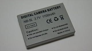 CANON NB-5L 対応互換大容量バッテリー 1100mAh PowerShot SX230 HS S100