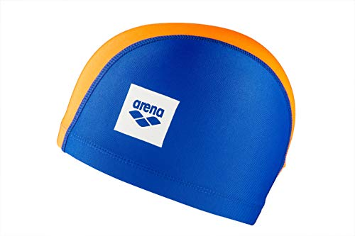 Arena Unix II Jr, Cuffia per Bimbi Unisex Bambini, Multicolore (Blue/Orange/LightBlue), Taglia Unica