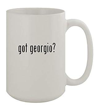 got georgio? - 15oz Ceramic White Coffee Mug White