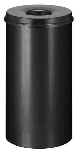 V-Part Selbstlöschender Papierkorb 50 Liter, schwarz