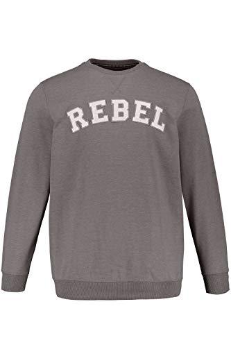 JP 1880 Herren große Größen Sweatshirt grau-Melange 3XL 726704 12-3XL