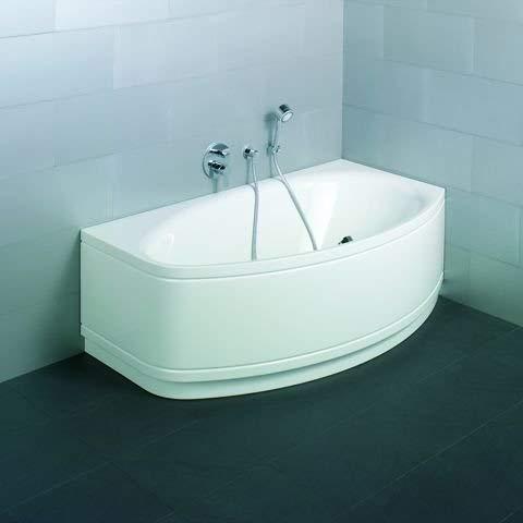 Bette Pool II Panel Eckeinbau, 6055CELV, 164x96cm, rechts, Farbe: Weiß