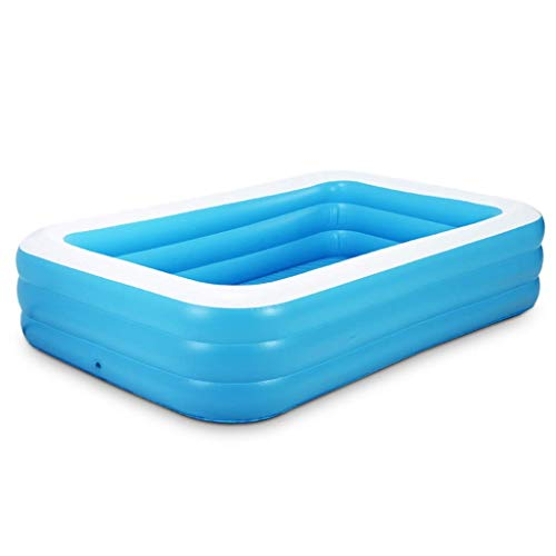 Swimming Indoor Inflatable Pool, Family Bathroom Bathing Pool Balcony Garden Pool Swimming Pool Kids Toy Pool Safe And Durable Family Water Park (Size : 130 * 90 * 50cm) KAIRUI ( Size : 130*90*50cm )