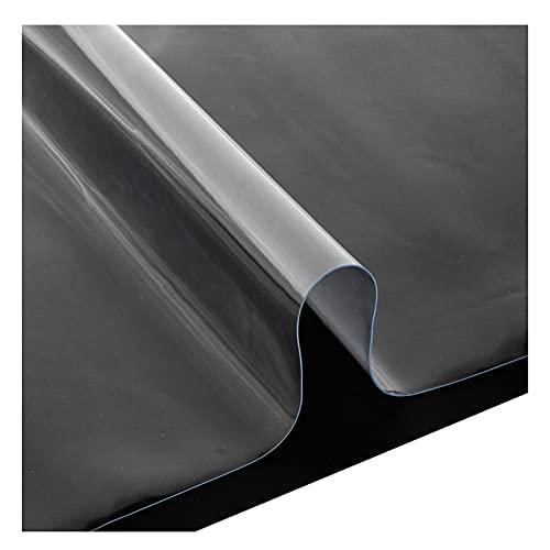 AMDHZ Mantel Transparente Vidrio Blando Protector Suelo Mantel Rectangular Silicona Impermeable Cocina Comedor (Color : 3mm, Size : 50x100cm)