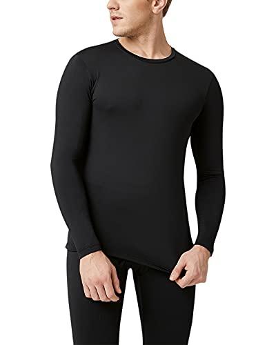 LAPASA Herren Innenfleece Thermo Unterhemd, Thermounterwäsche Oberteil 2er Pack Funktionsunterwäsche Warm/Wärmer/Extra warm (Thermoflux M09/M55/M26)