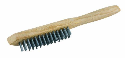 Original Einhell Stahl-Drahtbürste Schweiß-Zubehör (drei Reihen Stahlbürsten, hochwertige Verarbeitung für lange Lebensdauer)