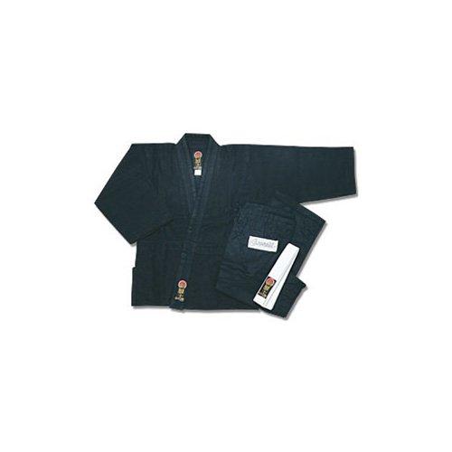 Pro Force Gladiator Judo Gi/Uniform - Black - Size 000