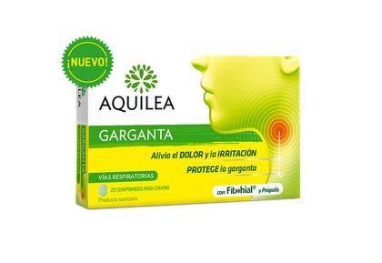 AQUILEA Garganta, Blanco, 200 G, 20 Comprimidos