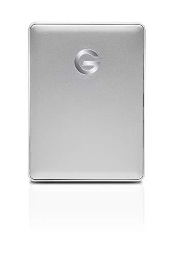 G-Technology G-Drive Mobile USB-C - Disco Duro Portátil, 4 TB, Plateado
