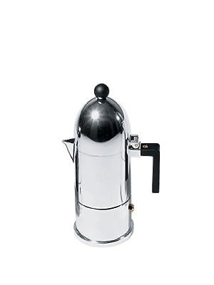 Alessi M. La Cupola Espresso Coffee Mug, Black