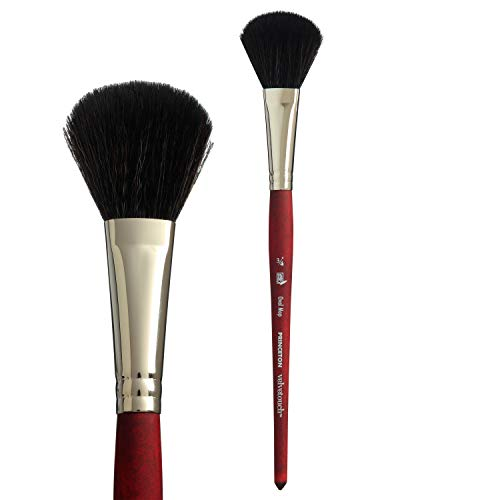 Princeton Velvetouch, Series 3950, Paint Brush for Acrylic, Oil and Watercolor, Oval Mop, 3/4 Inch
