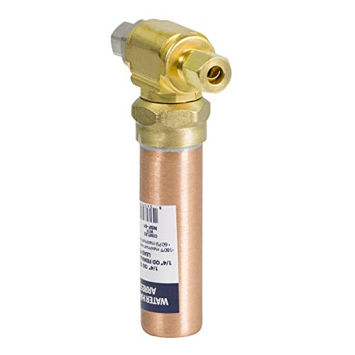 SUPPLY GIANT IS-BB-36DPNQ Compression Tee Hammer Arrestor, AA 1/4 in. OD COMP x 1/4 in. OD Femail, Copper