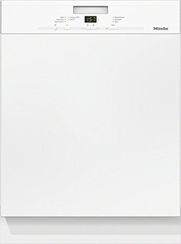 Miele G4920 SCi D BW230 2,1 Geschirrspüler Teilintegriert / A++ / 266 kWh / Jahr / 14 MGD / 2772 L / Jahr / Bequemes Be- und Entladen / Besteckschublade / brillantweiß