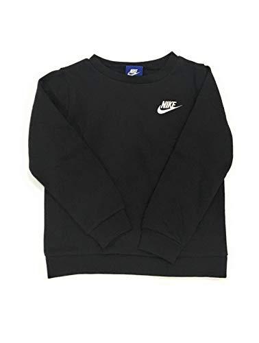 Nike Toddler Boys' Crew Neck Sweatshirt Black 4T