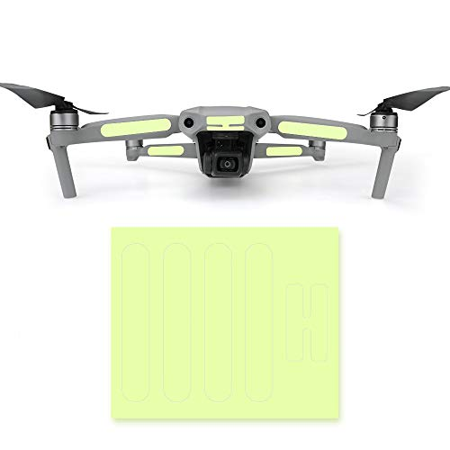 Eariy Night Luminous Sticker Kompatibel mit DJI Mavic Air 2 RC Drone,Luminous Sticker Dekoration Aufkleber,Drone Luminous Skin