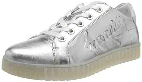 bugatti Damen 412639014910 Sneaker, Silber (Silver/White 1320), 37 EU