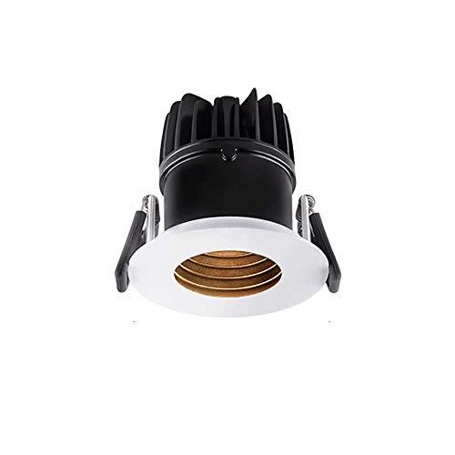 GaoF Luz empotrada LED de 10W Iluminación para el hogar Luces de Techo empotradas antideslumbrantes Foco Empotrado CRI90 de Alto Color para lámpara de Pasillo de Dormitorio