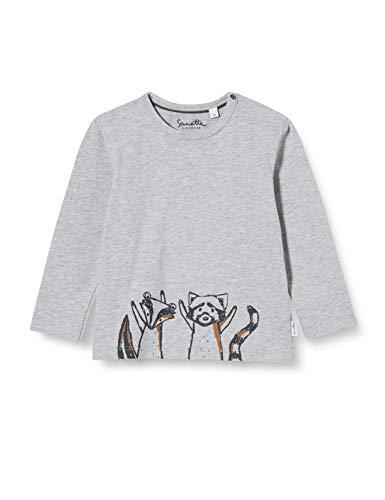 Sanetta Baby-Jungen Grey Mel Kleinkind T-Shirt-Satz, grau, 080