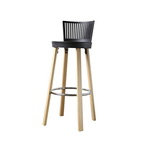 Dall barkruk FL-123 mode en eenvoud barkruk, kruk, voorbank, ontvangststoel, inbouwbaar 76,5 cm hoog