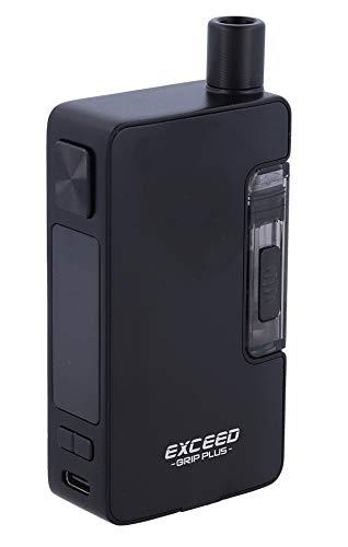Exceed Grip Plus E-Zigarette - max. 80 Watt - ohne 18650er Akkuzellen - 2,6ml Tankvolumen - von InnoCigs - Farbe: schwarz