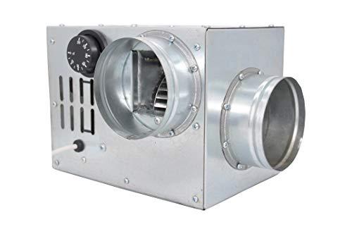 Warmluftverteilung Kamin Gebläse Turbine Ventilator AN0.5 100mm 200m3/h Compact Größe Heißluftventilator Kaminlüfter. Heißluft boost.