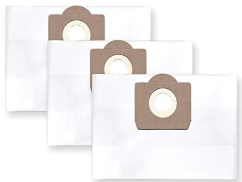 3x Fieltro Bolsa para el polvo Saco de filtro para Fein/Diseño Polvo de 6capas para Bosch amphibixx