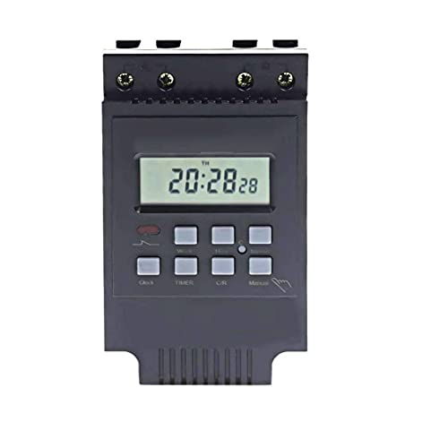 Interruptor temporizador programable del relé electrónico digital LCD TM616B-2 Smart Control Encendido Apagado, Smart Switch