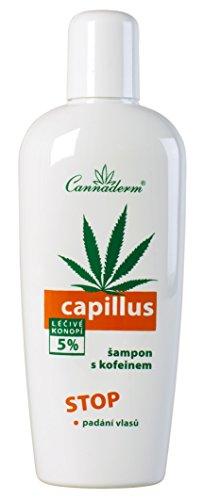 cannabis-cosmetics–Cannaderm Capillus ampon S kofeinem 150ml