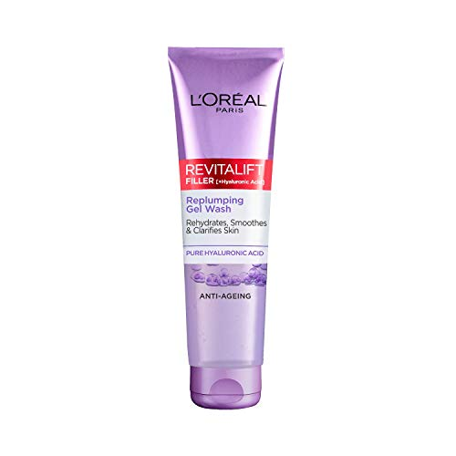L'Oreal Paris Revitalift Filler [+ Hyaluronic Acid] Gel Face Wash Cleans