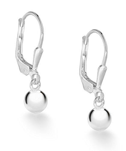 Tuscany Silver Damen - Ohrringe 925 Rundschliff Diamant 8.54.3549