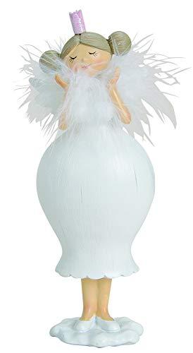 Pommerntraum ®   Dicker Schutzengel - Dicker Engel - Dicker Nana Engel - Dicke Dame - Dicke Lady - Curvy Topmodel - Dicker Rubensengel - Weiss - 20 cm!