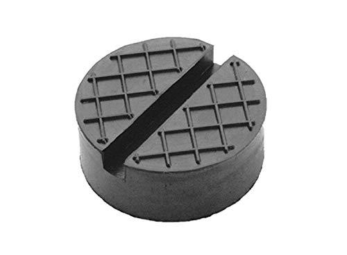Gummiauflagen zum Reifenwechseln über 50 Varianten Rangierwagenheber Wagenheber Hebebühne Gummiklotz Auflage Unterstellbock Gummiblock Auto KFZ PKW schutz kratzer rund eckig (65x25 Nut+Waffel)