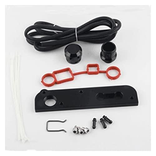 Lin min Firm MODIFICACIÓN DE Coche Válvula de Alivio de presión Tabla de turbina dedicada PCV Adaptador de vacío Ajuste para VW Golf para Audi 2.0T