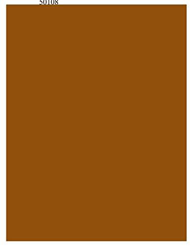 H421ld Lámina de cobre metálico sólida hoja de calcomanía de esmalte de hoja grande calcomanía fusible ~ Calcomanía de vinilo para ventana de coche