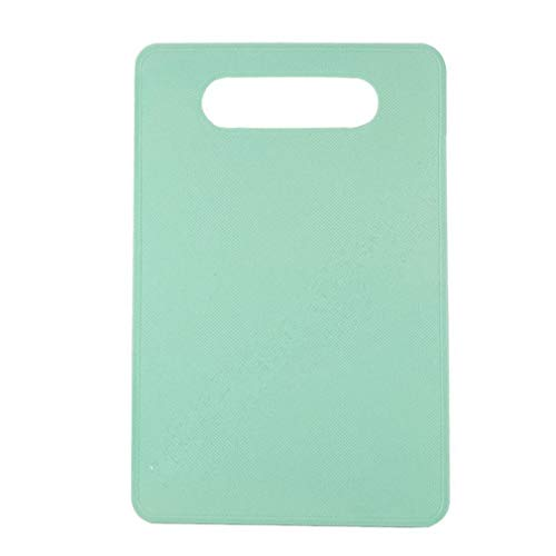 Kitchen Products Fruit Plastic Cutting Board Creative Multifunctional Cutting Board Kitchen Gadgets Non-Slip Pp Cutting Board NDMCC (Color : Green, Size : 290x190x2.3mm)