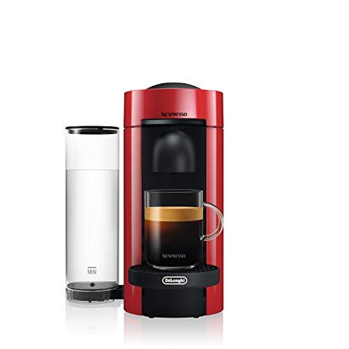 Nespresso Vertuo ENV 150.R Macchina per Espresso di De'Longhi, Colore Cherry Red, Capsule Vertuo System