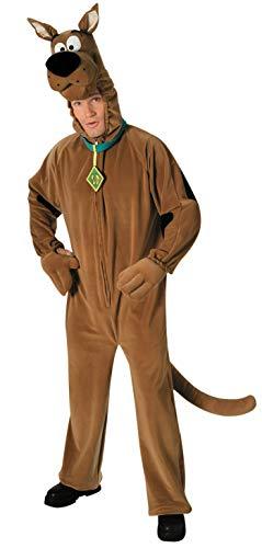 Deluxe Scooby Doo Costume, Orange, Standard, Orange, Standard Size
