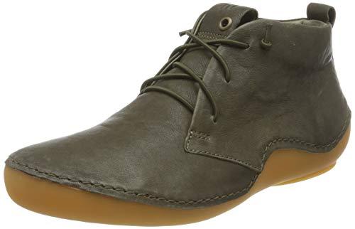 THINK! Damen KAPSL_3-000047 nachhaltiger Sneaker, 7000 Oliv/Kombi